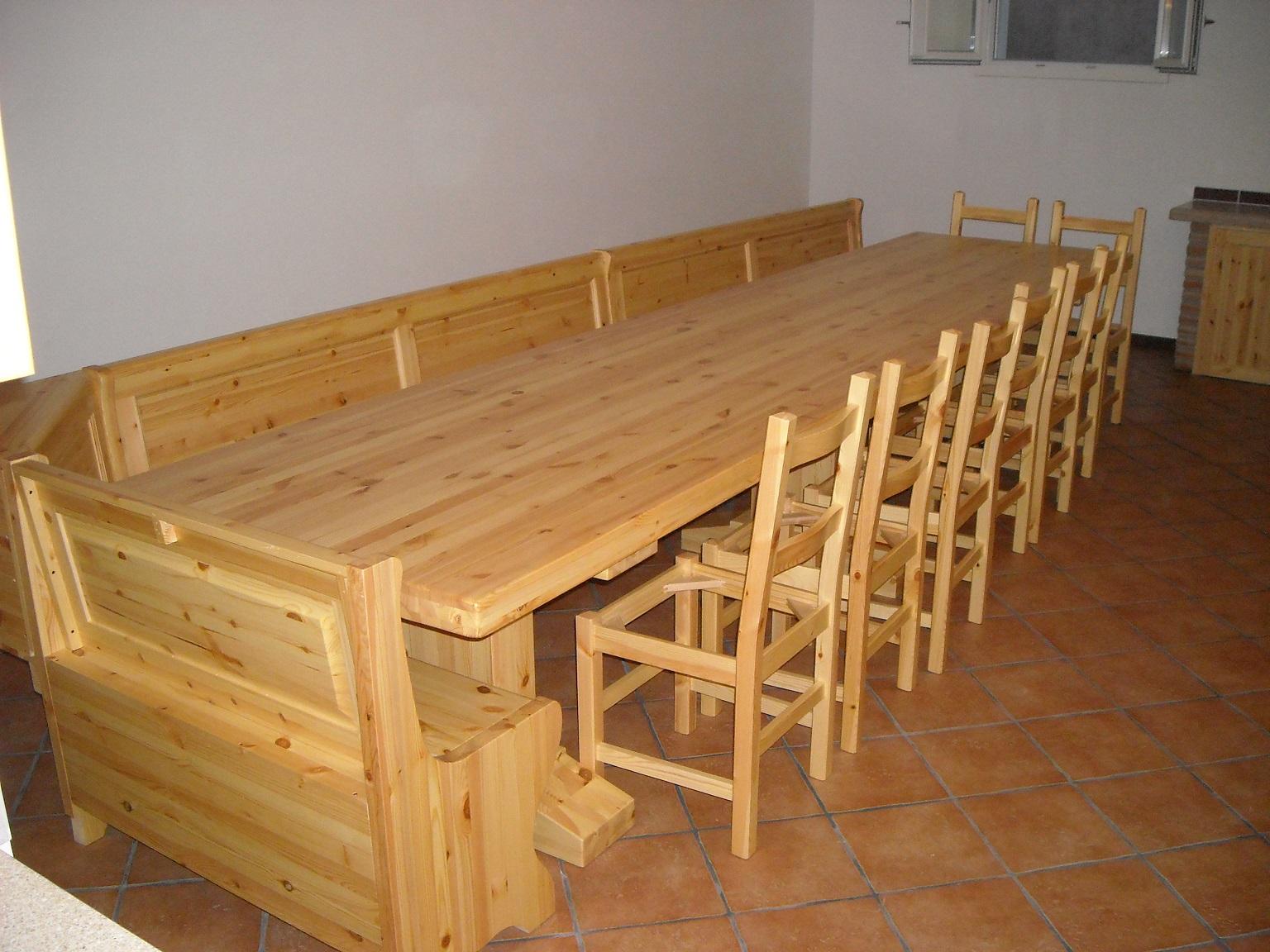 tavolo taverna giro panca venezia ESCAPE='HTML'