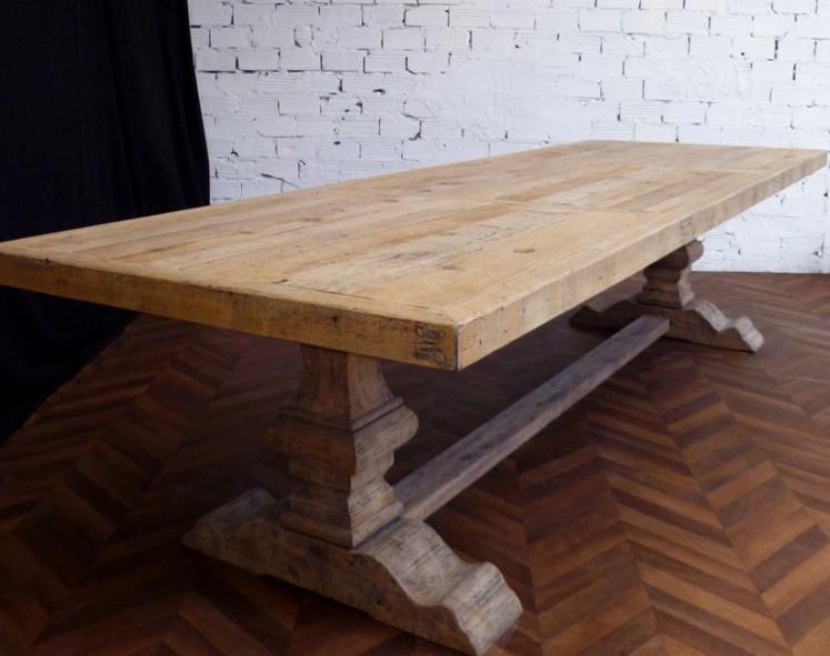 Tavoli in legno massiccio design casa creativa e mobili ispiratori - Tavolo in legno massello prezzi ...