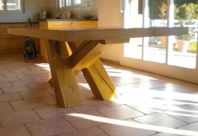 tavolo legno artigianale